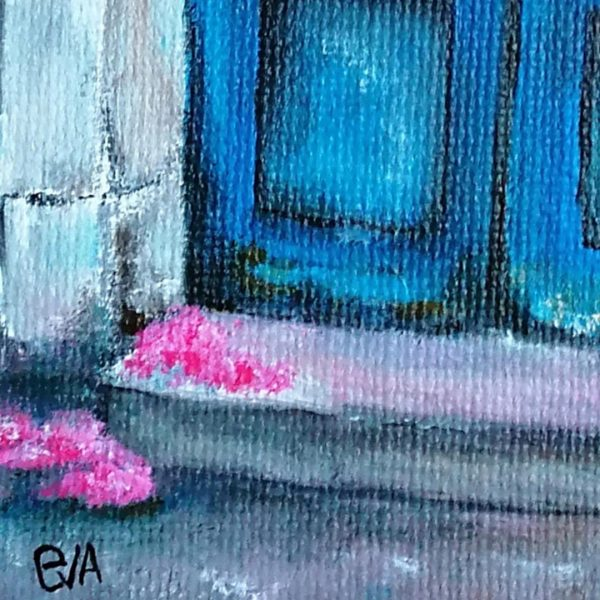 The Rest of the Summer, Acrylic Painting by Evelina Milanova
