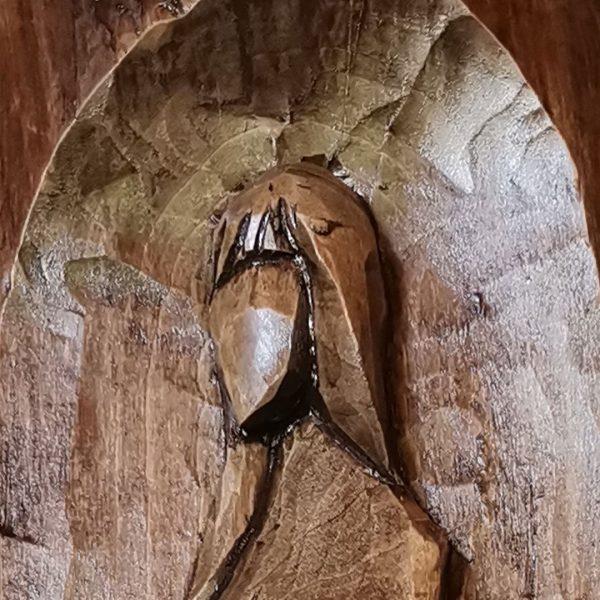 Beauty, Woodcarving by Nikifor Nikiforov
