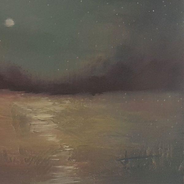 Stars, Oil Painting by Nikolai Pashkov