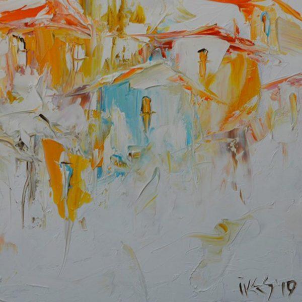 Dreams, Oil Painting by Iva Georgieva