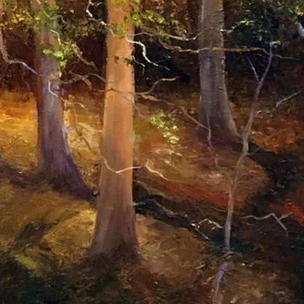 The Magic Forest, Oil Painting by Elena Velichkova
