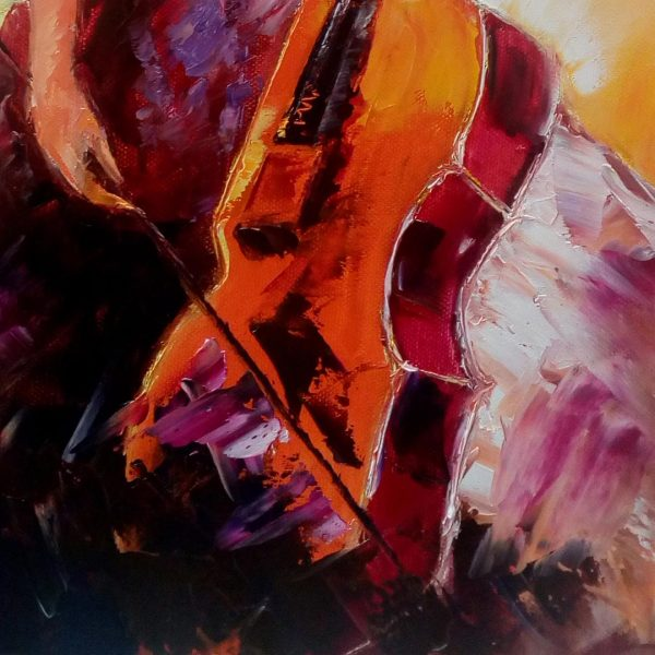 Music, Oil Painting 20x16 in / 50x40 cm