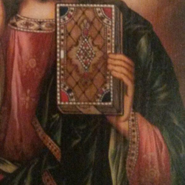Jesus Christ, Christian Icon by Nelly Jordanova