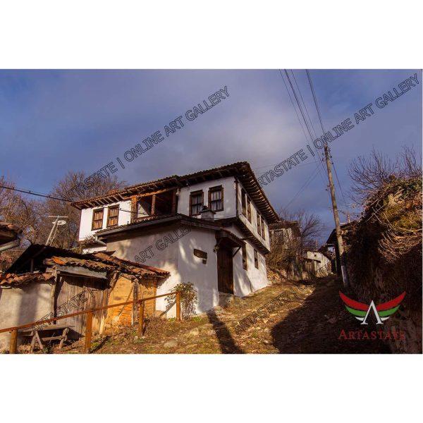 House, Digital Photo - Stock Image