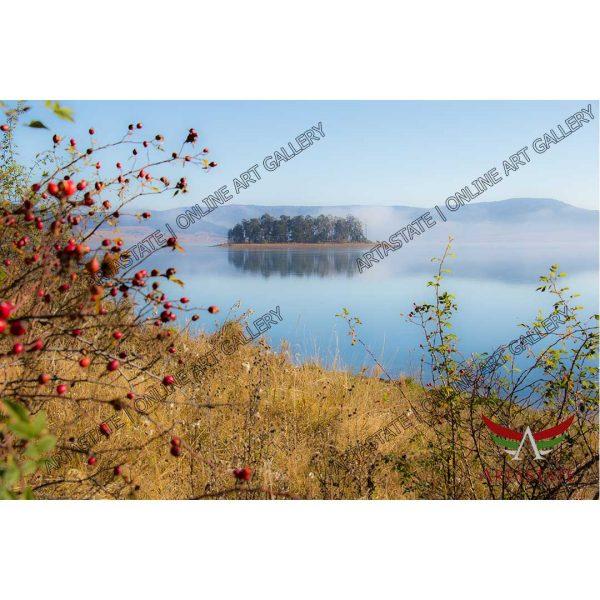 Lake, Digital Photo - Stock Image
