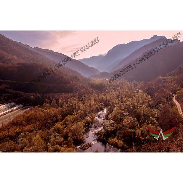 Landscape, Digital Photo - Stock Image