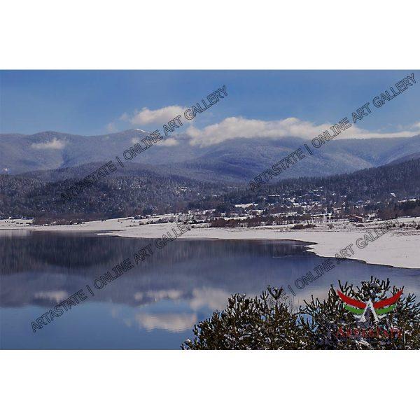 Winter, Digital Photo - Stock Image