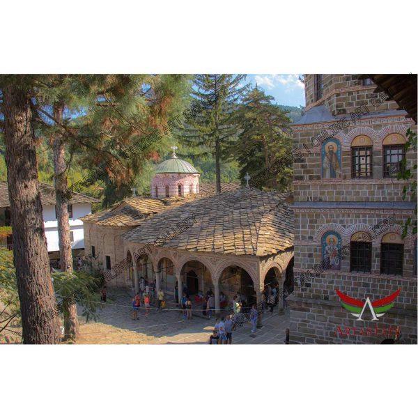 Monastery, Digital Photo - Stock Image