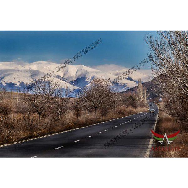 Mountains, Digital Photo - Stock Image