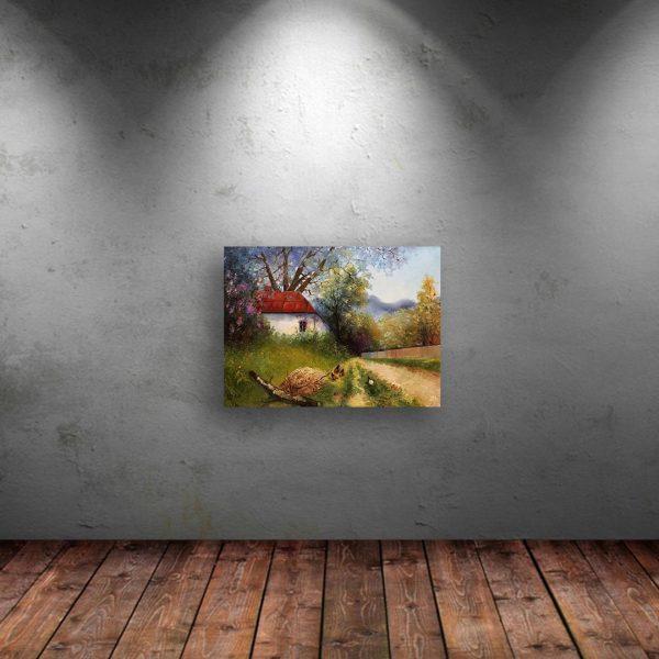 Idyll, Oil Painting by Elena Velichkova