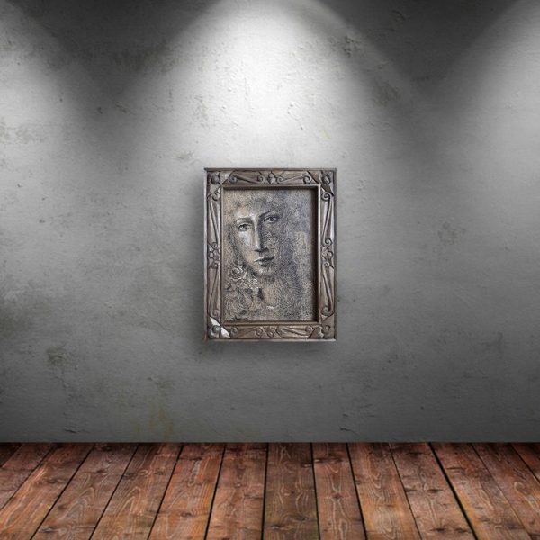 Expectation, Mixed Painting by Veselin Nikolov