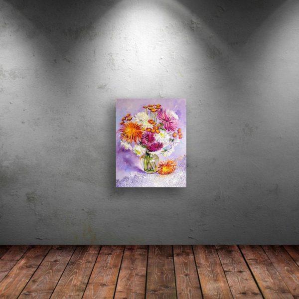 Gently, Oil Painting by Rumyana Petkova