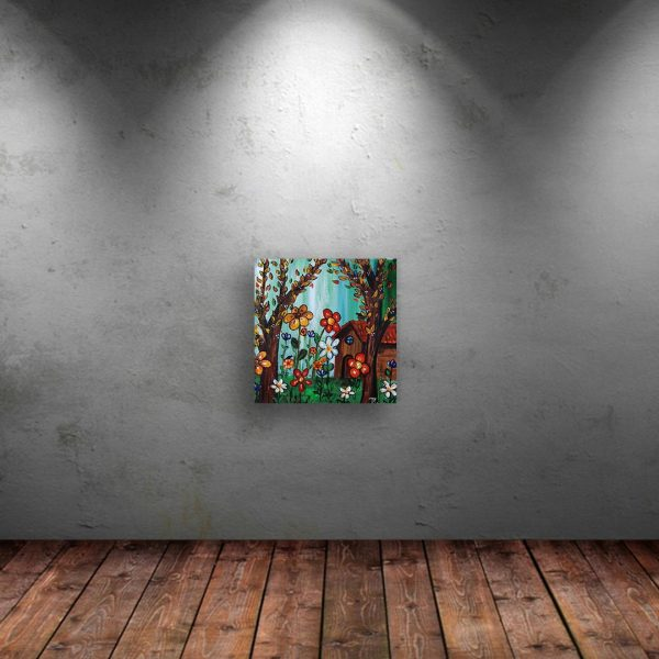 Colorful Morning, Acrylic Painting by Iliana Kirova