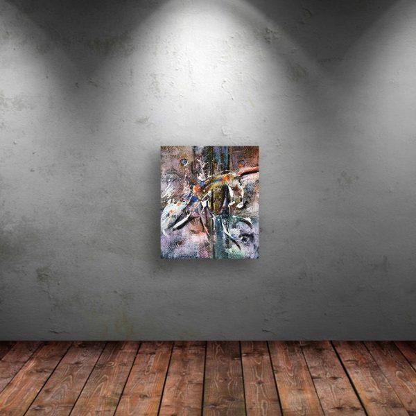 Dance, Acrylic Painting by Penio Ivanov