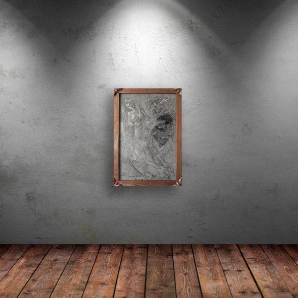 Fake Hero, Mixed Painting by Veselin Nikolov