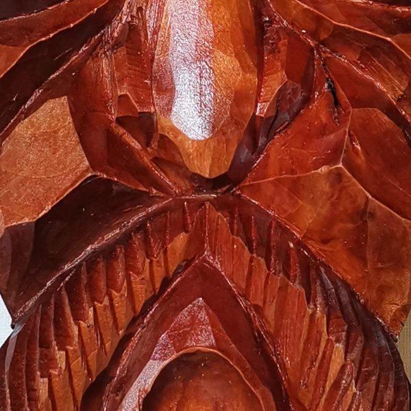 Hero, Original Woodcarving by Nikifor Nikiforov