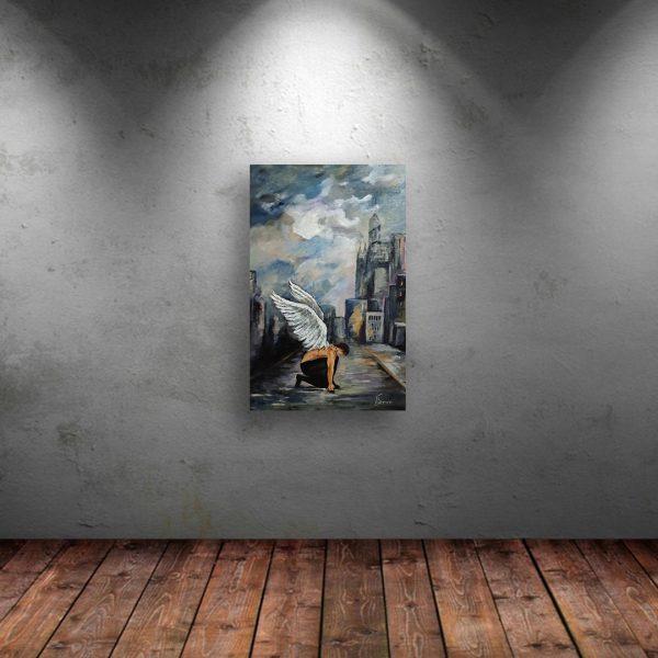 Faith, Acrylic Painting by Iliana Kirova