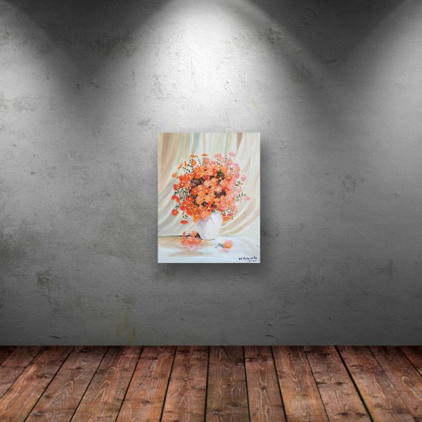 The White Vase, Oil Painting by Ivanka Alexieva