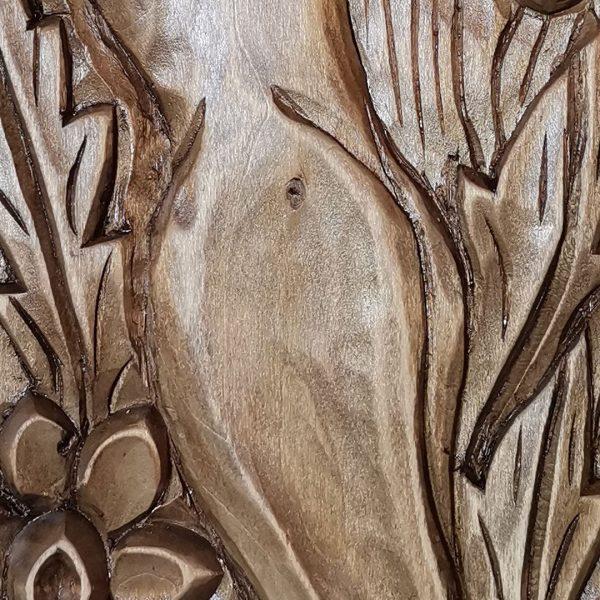 Fairy, Original Woodcarving by Nikifor Nikiforov