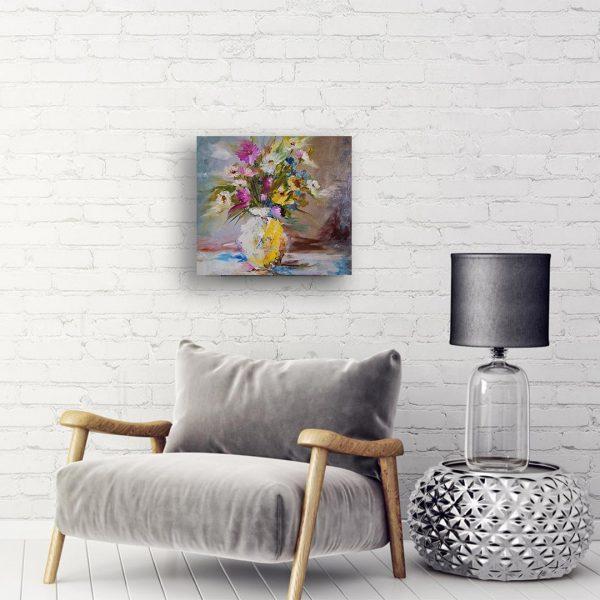Color Mood, Oil Painting by Hristina Burdiniashka