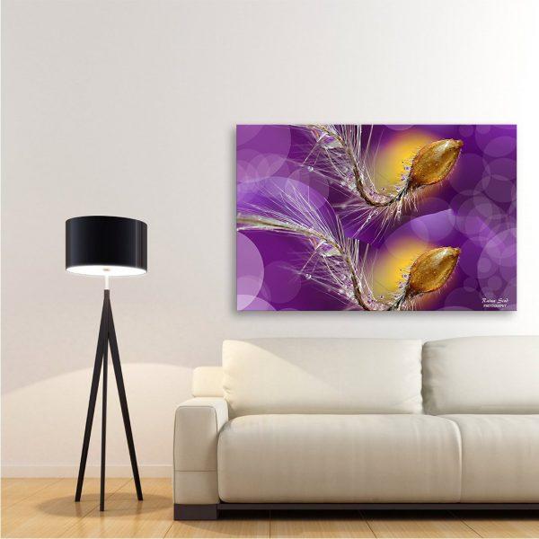 Synchron - Photography Canvas Art Print