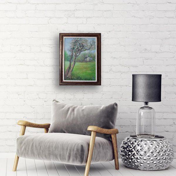 Spring, Oil Painting by Veselin Nikolov