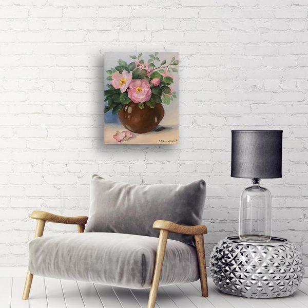 Trendafil, Oil Painting by Elena Velichkova