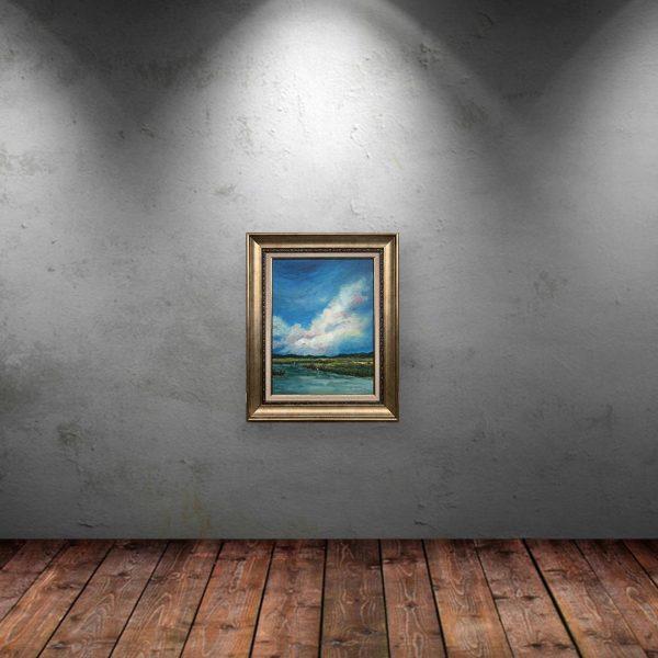 The Herald, Oil Painting by Neda Nacheva