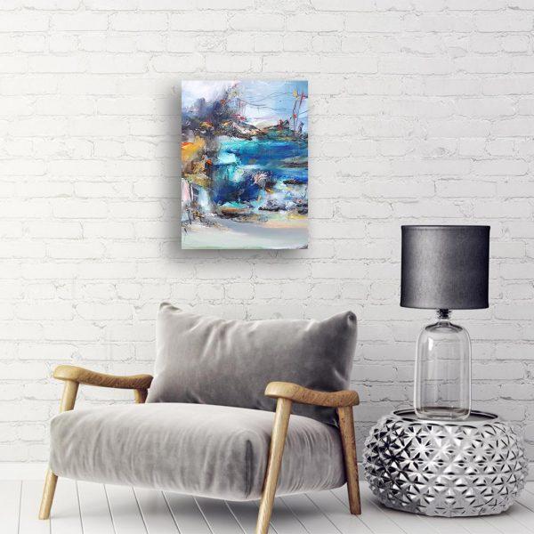 Dreaming, Oil Painting by Nadejda Kaimakanova