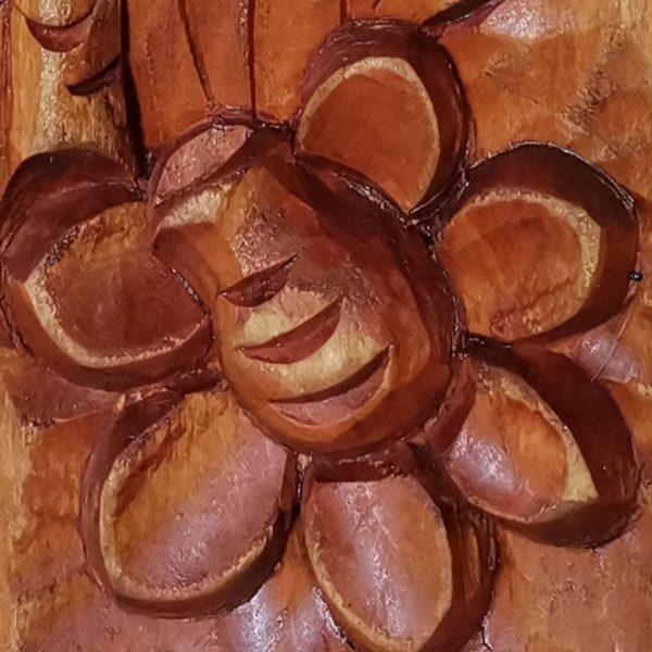 Phoenix, Original Woodcarving by Nikifor Nikiforov