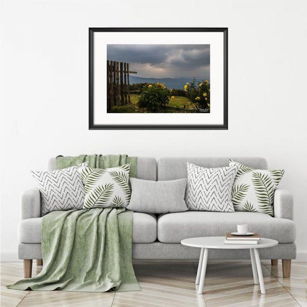 Landscape, Photography Framed Art Print by Raina Sind